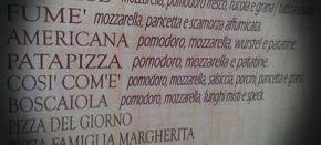 pizza così com'è
