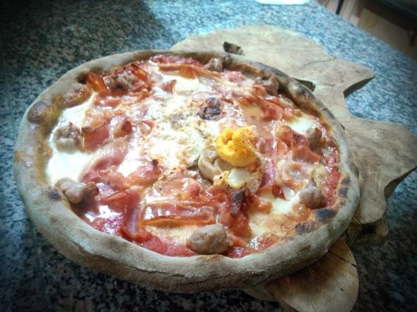 pizza breakfast così comè cerfignano lecce, tommaso de palo